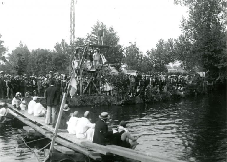 Baignade 1928-Vendôme