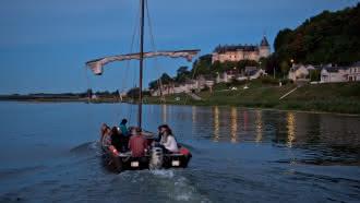 Balade en bateau traditionnel sur la Loire avec Millière Raboton