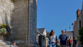 Visite du village de Saint-Dyé-sur-Loire
