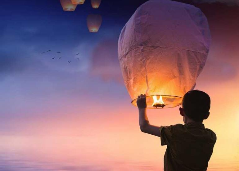 Lâcher-de-lanternes