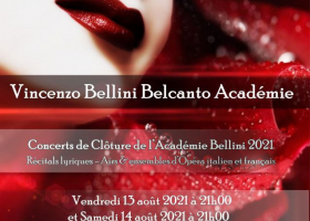 Vincenzo Bellini Belcanto Académie à Vendôme