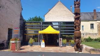 Bureau d'information touristique à Montoire-sur-le Loir
