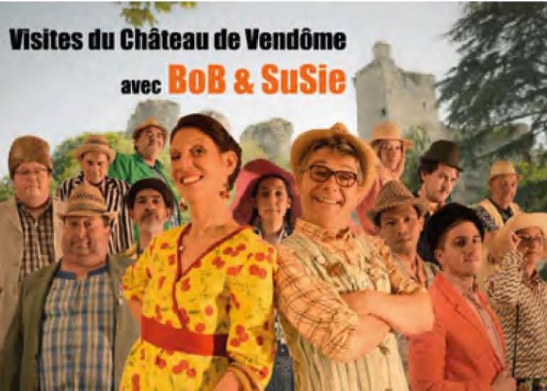 Le château de Vendôme avec Bob et Susie