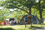 Camping Huttopia Les Châteaux - Camping