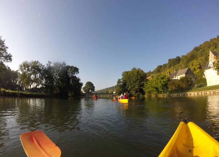 Canoe sur le Loir- Les Roches L'Evêque