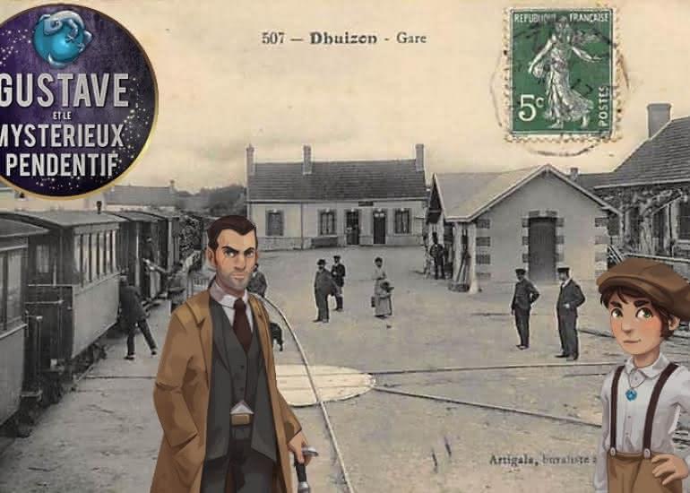 Carte-postale-gare-Dhuizon-4