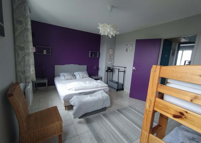 chambre parentale violette asato