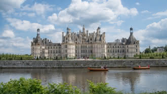 Promenade en bateau et barque électriques à Chambord
