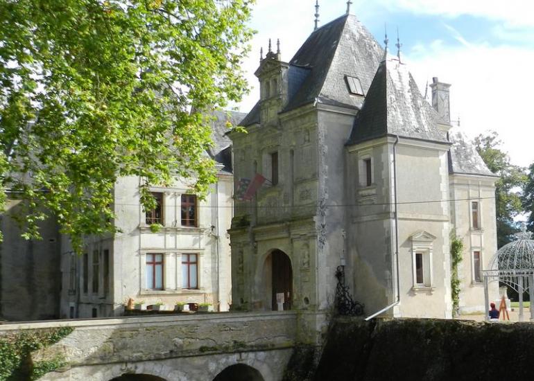 Château de la Mézière à Lunay