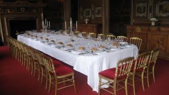 Location de salle au Château de Cheverny