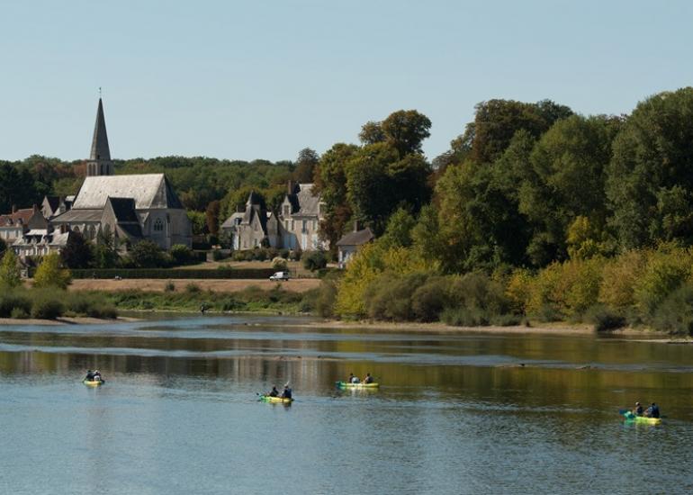 Descente de Loire en canoë
