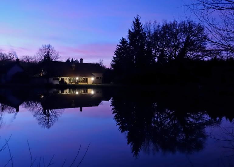 Maison d'hôtes au bord de l'étang