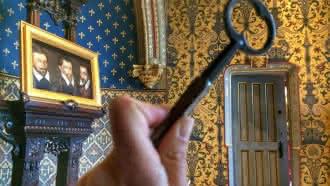 """Escape Game au château Royal de Blois """"La folle évasion de Marie de Médicis"""""""