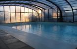 Ferme-de-couffy la piscine couverte et chauffée