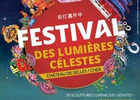 Festival des Lumières Célestes au Château de Selles-sur-Cher