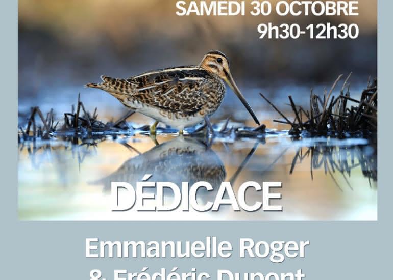 FMA-dedicace Emmanuelle Roger et Frederic Dupont - 30-10-2021