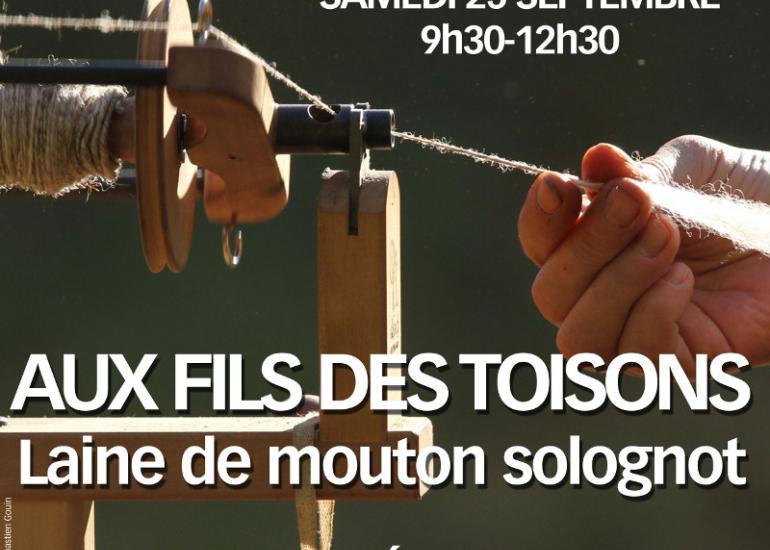 FMA-Les samedis matin de l'office de tourisme -25-09-2021 - AUX FILS DES TOISONS