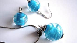Démonstration de fabrication de perles en verre de Murano