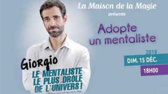 Spectacle à la Maison de la Magie – Adopte un mentaliste de Giorgio