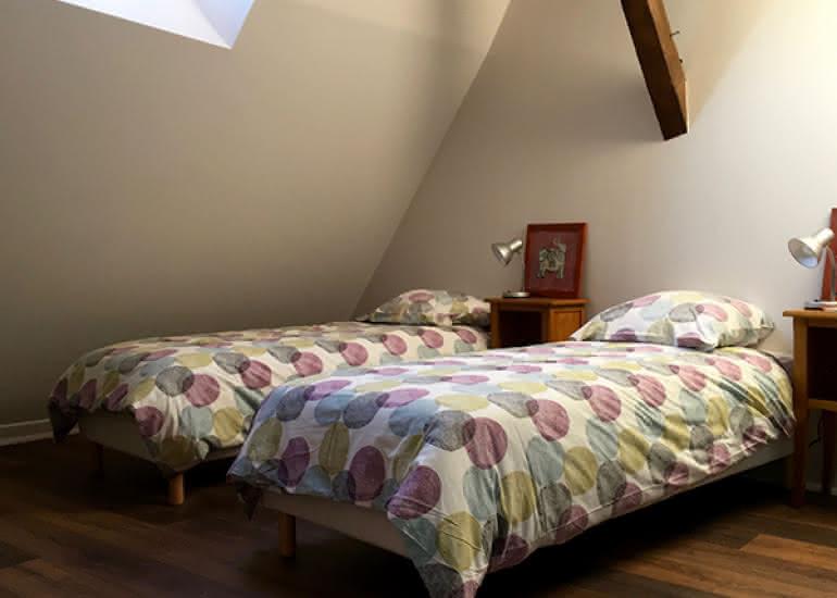 la maison saint aignan - gite - la chambre