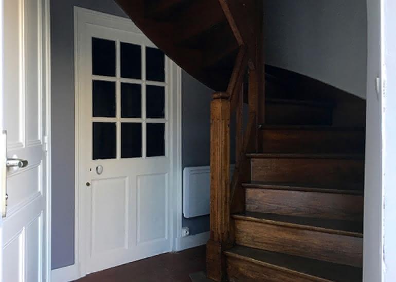la maison saint aignan - gite - l'entrée