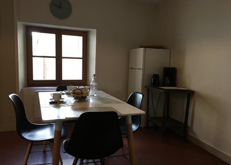 la maison saint aignan - gite - la cuisine