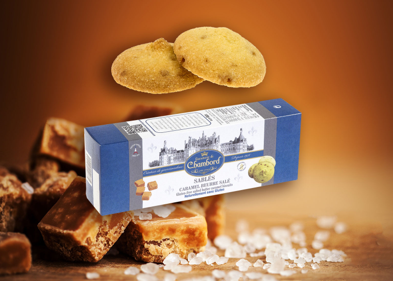 Biscuiterie de Chambord - Sablés caramel beurre salé