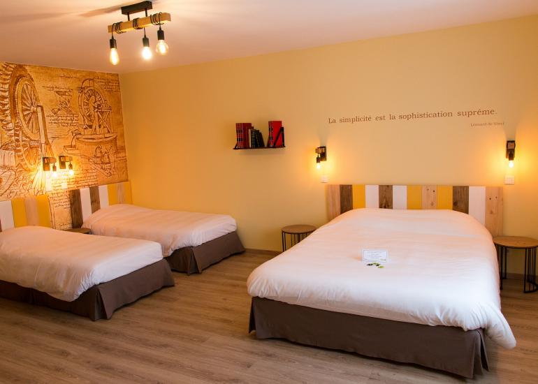 Hotel du Cygne Chambre familiale
