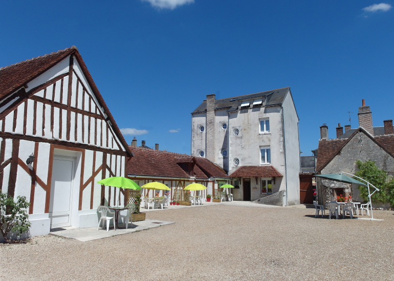 Hotel du Cygne cour privative