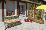 Hotel du Cygne terrasse