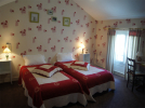 hotel-la-Sauldraie-Chambre-fleurs-salbris©Hotel-La-Sauldraie