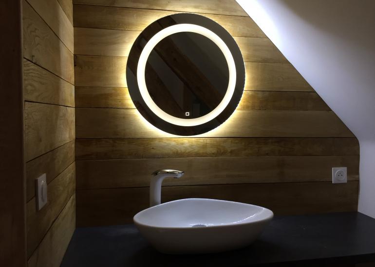 Salle de bain: Chêne