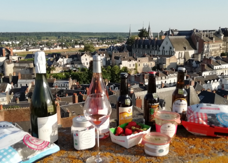 Sélection France Terroir vue sur le Chateau de Blois