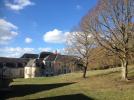 Vue sur l'arrière du château LA GRANDE MAISON GITE DE GROUPE