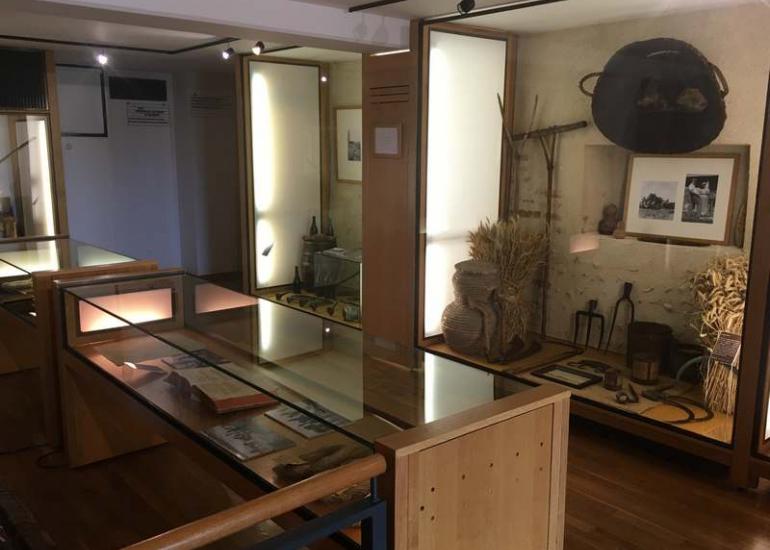 intérieur musée de Sologne