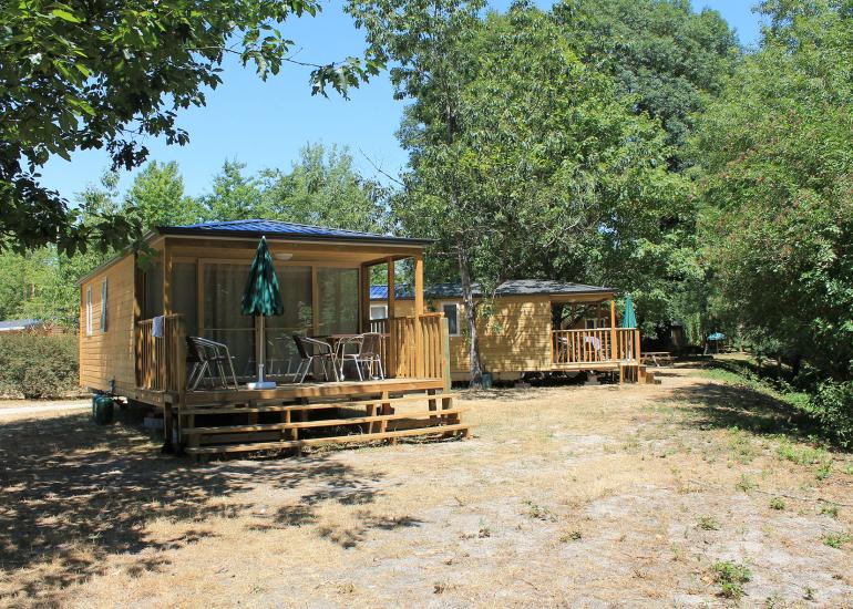 Camping Huttopia Les Châteaux - Chalet Evasion