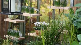 Jardins d'hiver au Domaine Régional de Chaumont