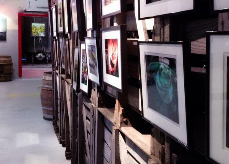 L'art à la cave