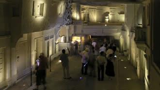 Carrière de tuffeau et ville souterraine