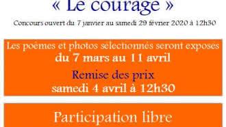 Concours photo et poésie « Le courage »