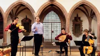 Concert au Manoir de la Possonière : Sulla Lira… La voix d'Orphée par Le Miroir de la Musique