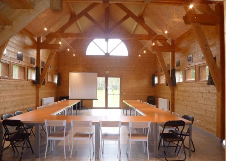 Le Moulin de Crouy - Salle de réunion