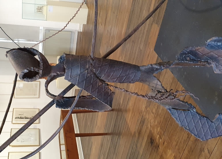Le pêcheur au carrelet