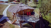 Extérieur de la Cabane Perchée