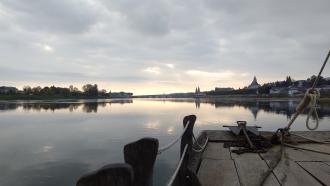 Balade en bateau traditionnel sur la Loire avec l'Observatoire Loire