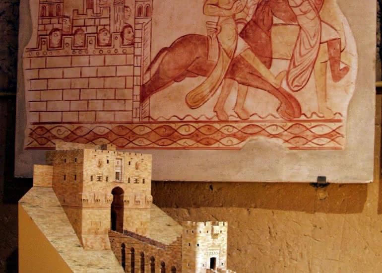 Musée - Entrée de la Citadelle d'Alep
