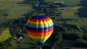 Compagnons du Vent, le voyage en montgolfière