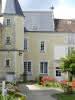 Cour de l'hôpital de Montoire-sur-le Loir