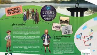 Explor'Games® «Gustave et le mystérieux pendentif» – Le champion de Montrieux-en-Sologne – 2 km
