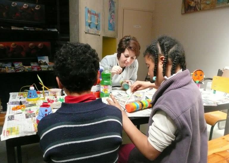 Ateliers pour enfants à Musikenfête à Montoire-sur-le Loir